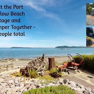 Private Beach - Book Port Ludlow Beach Cottage And Camper Together photos Exterior