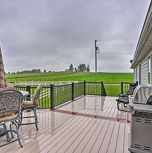 Millersburg Home With Covered Porch And Fire Pit! photos Exterior