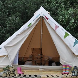 Immaculate And Cosy Bell Tent In Shaftesbury Uk photos Exterior
