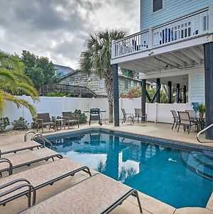 Beach Home With Pool And Sundeck, Walk To Ocean! photos Exterior