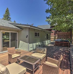 South Lake Tahoe Hideaway With Private Hot Tub! photos Exterior
