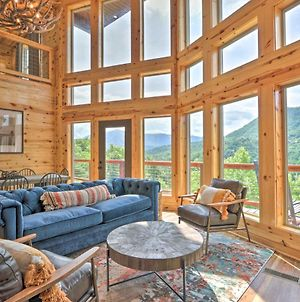 Mountain Dew Cabin With Hot Tub And Mtn Views! photos Exterior