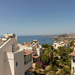 Pleasant Building Of 2 Apartments With Fascinating Sea View And Garden In Bodrum photos Exterior