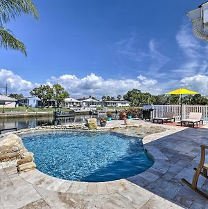 Port Richey Canalfront Cottage With Dock And Slip photos Exterior