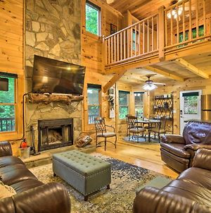 Blairsville Cabin With Fire Pit Near 2 Lakes! photos Exterior