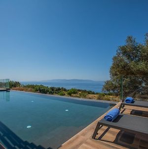 Brand New Villa Lefka With Private Pool At Platies photos Exterior