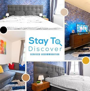 1 Bedroom Luxury Apartment By Stay To Discover Serviced Accommodation London - Free Wifi, Netflix & Smart Tv photos Exterior