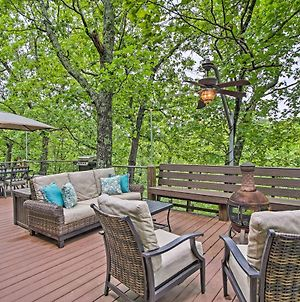 Lakefront Eucha House With Large Deck And Private Dock! photos Exterior