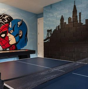 Lively 5 Bdrm Villa With Super Hero Game Room At Encore photos Exterior