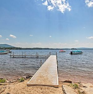 Idyllic Ossipee Escape With Deck And Game Room! photos Exterior