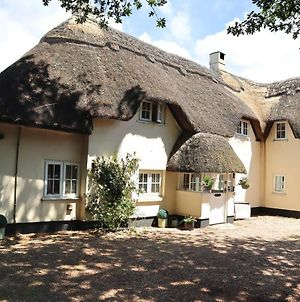 Beautiful Character 5 Bedroom Dorset Thatched Cottage - Great Location - Garden - Parking - Netflix - Fast Wifi - Smart Tv - Newly Decorated - Sleeps Up To 10! Only 18 Mins Drive To Sandbanks Beach! Close To Bournemouth & Poole photos Exterior