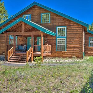 Peaceful Leadville Retreat With Covered Deck! photos Exterior