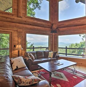 Dreamy Blue Ridge Cabin With Hot Tub And Views! photos Exterior