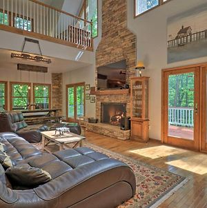 Private Riverfront Lake Lure Home On 13 Acres photos Exterior