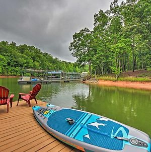 Family House On Lake Lanier With Private Dock! photos Exterior
