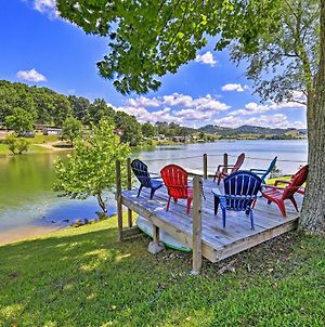 Waterside Cherokee Lake Home With Private Dock! photos Exterior