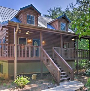 Serene Lake Lure Cabin With Fire Pit And Grill! photos Exterior