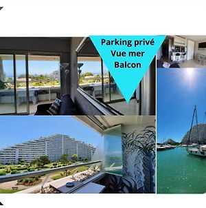 Lovely Apartment In Marina Baie Des Anges- Baronnet - Sew View, Free Parking Spaces On Site, Restaurants, Beach, Supermarket photos Exterior