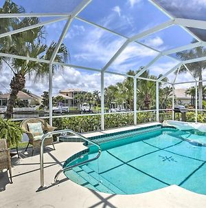 Waterfront Home With Pool, Fishing And Gulf Access! photos Exterior