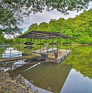 Lake Barkley House With Dock, Kayaks, Fire Pit! photos Exterior