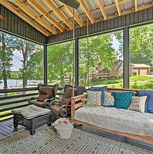 Luxe Lake Martin Cabin With Dock Boat And Hike! photos Exterior
