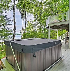 Luxe Long Lake Escape With Hot Tub And Fire Pit! photos Exterior
