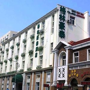 Greentree Inn Qingdao Railway Station Square Express Hotel photos Exterior