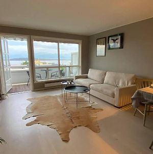 Sea View Apartment With Balcony, Garage, Lift And 5 Min To City Center Molde photos Exterior