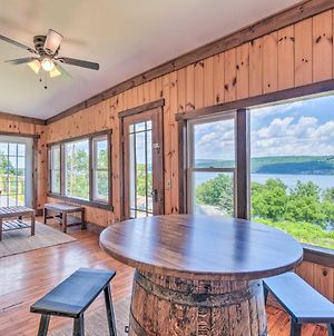 Watkins Glen Lakeview Cottage With Waterfall! photos Exterior