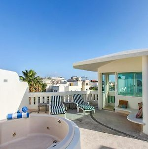 Ph With Rooftop Whirlpool Tub On 5Th By Mamitas Beach! photos Exterior