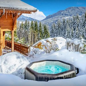 French Alps Ski Chalet For 8 With Great Views Jacuzzi And Games Room For The Perfect Family Vacation photos Exterior