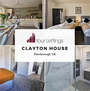6 Bedroom Contractor House With Free Parking, Free Wifi And Free Netflix - Clayton House By Your Lettings Peterborough photos Exterior