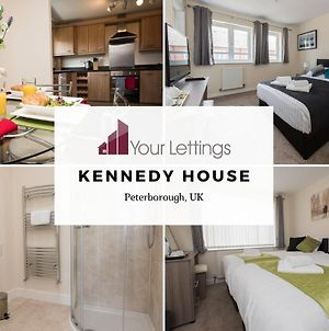 6-Bedroom Contractor House With 6 Bathrooms, Free Wifi And Parking - Kennedy House By Your Lettings Peterborough photos Exterior