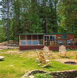 Rustic Pequot Lakes Cabin With Dock On Loon Lake photos Exterior