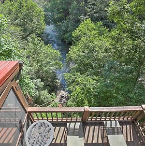 Treetop Cabin With Incredible Views And Hot Tub! photos Exterior