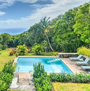 Nevis Home With Pool, Stunning Jungle And Ocean Views! photos Exterior
