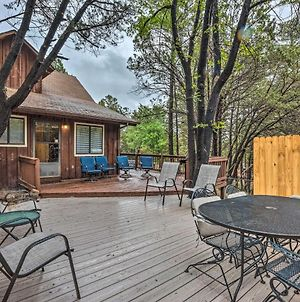 Rustic Ruidoso Cabin With Large Deck And Grill! photos Exterior