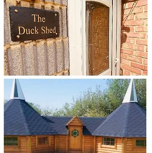 1 Miniature Oast House & 1 Separate Self Contained Duck Shed photos Exterior