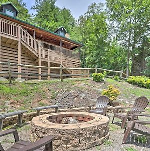 Scenic Mtn Retreat Hot Tub, Fire Pit And Grill photos Exterior
