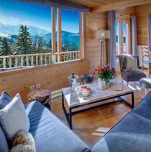 French Alps Traditional Chalet For 8 - Perfect Family Holiday With Scandinavian Hot Tub & Fabulous Views photos Exterior