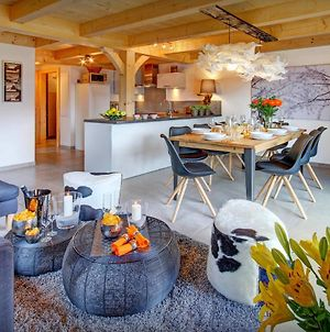 Mountain Holiday In Stylish Chalet For 8 In Manigod With Open Space Living Beautiful Views & Garden Close To Slopes photos Exterior