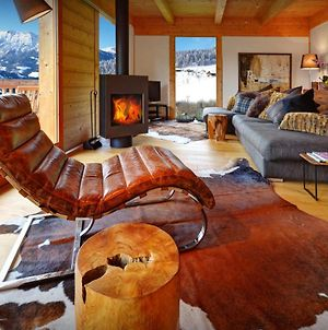 Unique Cosy Chalet For 8 In Manigod With Modern Wooden Decor Log Fire Nights And Panoramic Views photos Exterior