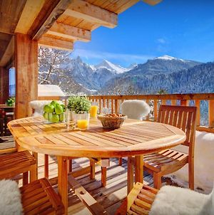 Unique Luxury Chalet For 12 In Peaceful Area With Panoramic Views Spa Facilities & Pool Table photos Exterior