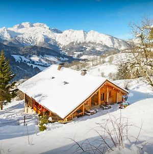 Traditional Farm Chalet For 10 With Scandinavian Hot Tub & Sauna Enjoy Wonderful Valley Views And Great Skiing photos Exterior