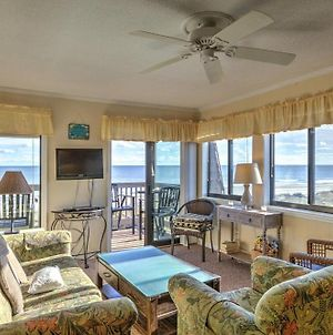 Oceanfront Corner Unit With Pools Hot Tubs And Kiddie Pool Washer And Dryer On Second Floor Of Building photos Exterior