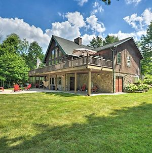 Log Cabin Home On Double Lot At Indian Lake! photos Exterior