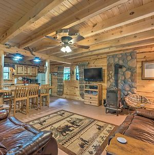 Rustic Cabin In Ruidoso Area With Rural Setting photos Exterior