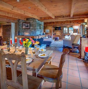 Alpine Charm Farmhouse For 8 With Breathtaking Views Cosy Open Fire & Kids Play Area Close To Village photos Exterior
