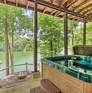 Lakefront Seneca Hideaway With Fire Pit And Decks photos Exterior