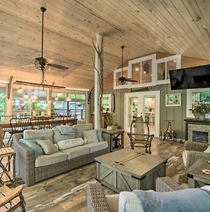 Striking Home With Hot Tub, Deck, And Lake Access photos Exterior